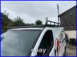 02 14 Vauxhall Vivaro Renault Trafic Primastar LWB Rhino Roof Rack & Roller