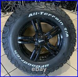 16 Alloy Wheels Vauxhall Vivaro Renault Traffic 5x118 All Terrain Tyres Alloys