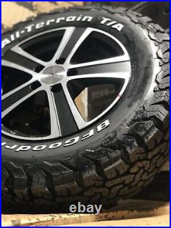 16 Vauxhall Vivaro Renault Trafic Alloy Wheels Bfg All Terrains 5x114 Black New