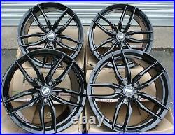 17 Black Iota Rs Alloy Wheels Fits Opel Vivaro Mk1 Renault Trafic Traffic 5x118