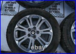 17 Renault Trafic / Vauxhall Vivaro Mk3 (2014-20) Genuine Set Of Alloy Wheels