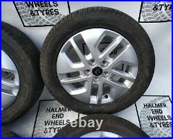 17renault Trafic Vauxhall Vivaro Mk3 Genuine Alloy Wheels With Tyres
