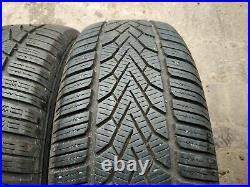 17renault Trafic/vauxhall Vivaro Mk3 Genuine Alloy Wheels Winter Tyres