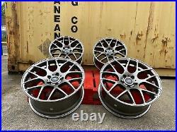 18 Aluwerks Zx4 Alloy Wheels 5x114.3 Vauxhall Vivaro Renault Trafic Load Rated
