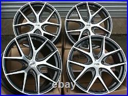 18 Gmf Rs Alloy Wheels Fits Vauxhall Vivaro Mk1 Renault Trafic 5x118