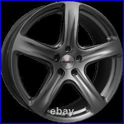 18 Grey Alloy Wheels Tyres Vauxhall Vivaro Van Renault Traffic Load Rated