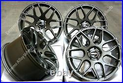 18 Grey CR1 Alloy Wheels Fits Opel Vauxhall Vivaro Mk2 Renault Trafic 2014 Wr