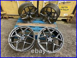 19 Aluwerks Xt2 Alloy Wheels 5x114.3 Vauxhall Vivaro Renault Trafic Load Rated