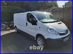 2006 Vauxhall Vivaro 2900 1.9cdti LWB campervan dayvan Drive Away white trafic