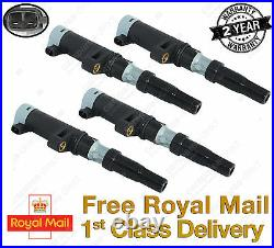 4 Pack Renault Clio, Megane, Grand, Scenic Ignition Coil 1.4,1.6,1.8,2.0