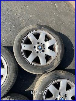 Bmw 3 Series E46 16 Set Of 4 Alloy Wheels (Vauxhall Vivaro Renault Trafic)