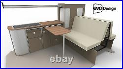 Camper van Furniture Renault Traffic Vauxhall Vivaro Nissan Prima star