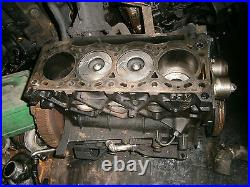 Engine half block f9k f9q 1.9 dci vauxhall vivaro renault trafic traffic 01 09