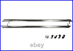 For Renault Polished Side Step Rail Running Board Bar Trafic SWB Primastar 2001+