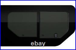 Front Side Sliding & Fixed Window Renault Trafic Vauxhall Vivaro 01-14 SWB/LWB