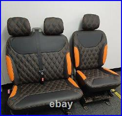 Full Seat Set Renault Trafic Opel Vauxhall Vivaro Nissan Primastar 2001-2014