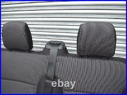 Genuine Folding OEM Black Triple Bench Seat from Renault Trafic Vauxhall Vivaro