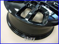 Genuine Vauxhall Vivaro B Renault Trafic 15- 17 x4 Black Alloy Wheel 93460199