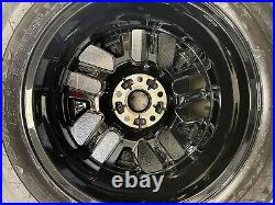 Genuine Vauxhall Vivaro B Renault Trafic 17 x4 Black Alloy Wheel 93460199