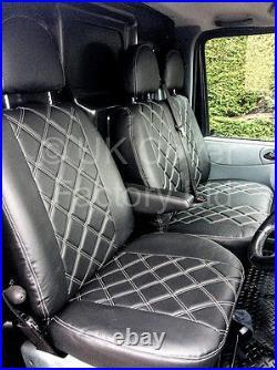 In Stock! Renault Trafic Vauxhall Vivaro Silver Bentley Van Seat Cover A41