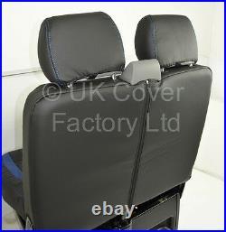 In Stock! Vauxhall Vivaro Renault Trafic Van Seat Cover Red Bentley 2006-2012