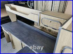 LWB Vauxhall Vivaro/Renault Trafic Lightweight Kitchen Cabinets Camper Units Kit