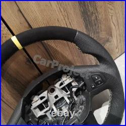 Leather Steering Wheel Renault Trafic 3, Vauxhall Vivaro B Ii. Sale