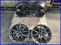 Load Rated Gunmetal 18 Vivaro Vxr Style Wheels Vauxhall Vivaro Renault Trafic
