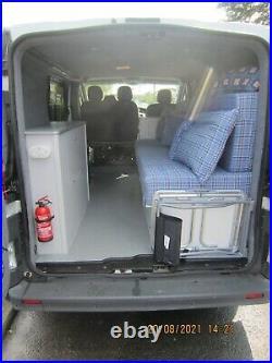 Nissan Primastar based camper van, dayvan. Like Renault Traffic, Vauxhall Vivaro