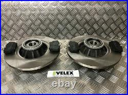 REAR Brake DISCS and PADS ABS RINGS and BEARINGS RENAULT TRAFFIC VAUXHALL VIVARO