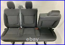 RENAULT TRAFFIC VAUXHALL VIVARO NISSAN PRIMASTAR Triple Bench Seat