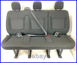RENAULT TRAFFIC / VAUXHALL VIVARO / NISSAN PRIMASTAR Triple Bench Seat