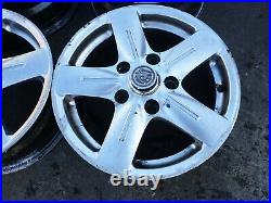 RENAULT TRAFIC / VAUXHALL VIVARO 2001-2014 16 alloy WHEELS&TYRES +wheel nuts