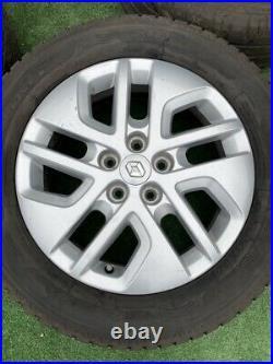 Renault Traffic, Vauxhall Vivaro 17 Alloy Wheels With Tyres