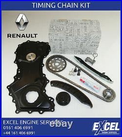 Renault Trafic Timing Chain Kit Nissan Vaux 2.0 M9r 130c12127r + Cover + Seal