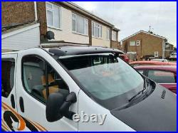 Renault Trafic/Vauxhall Opel Vivaro2001-21 SunVisor Sunvisor Solid Black Acrylic