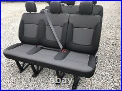 Renault Trafic Vauxhall Vivaro 2020 Isofix Point Van Minibus Rear Back Seats