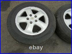 Renault Trafic Vauxhall Vivaro Primstar 2001 -2014 Alloy Wheels Tyres 215/65r16c