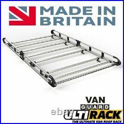 Renault Trafic/Vauxhall Vivaro Roof Rack 2014-2019 SWB Std Roof Twin Door 7 Bars