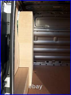 Renault Trafic / Vauxhall Vivaro Side Door Plywood Van Racking Storage Shelving