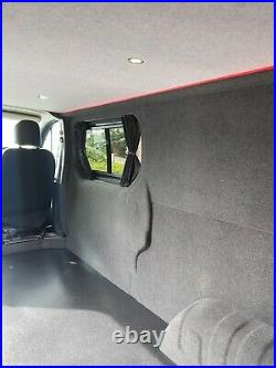 Renault Trafic Vauxhall vivaro carpet lining. Day van conversion camper