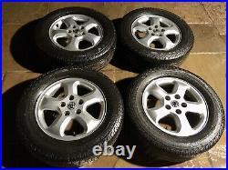 Renault Trafic /vauxhall Vivaro/nissan Primastar Alloy Wheels And Tyres