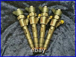 Set Of 4 Renault Trafic Vauxhall Vivaro 1.9dci Bosch Diesel Injector 0445110110b