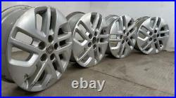 Set Of Genuine 17 Inch VAUXHALL VIVARO RENAULT TRAFIC Alloy Wheels Rims 93866154
