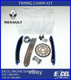 Timing Chain Kit Renault 1.6 DCI 2011 R9m Engines 130c10990r Genuine Oem