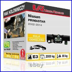 Towbar 12N Wiring For Nissan Vauxhall Renault PRIMASTAR VIVARO TRAFIC 31099/SF