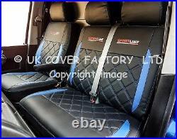 VAUXHALL VIVARO RENAULT TRAFIC 2013 van seat covers BENTLEY A24