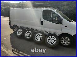 Vauxhall VIVARO/RENAULT TRAFFIC/NISSAN PRIMASTAR BMW ALLOY WHEELS 2001-early2014