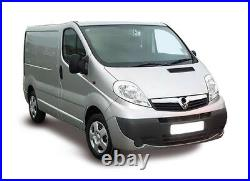 Vauxhall Vivaro 2000-2014 Rear Bumper Centre Section Primed With Sensor Holes