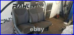 Vauxhall Vivaro Nissan Primastar Renault Trafic 02-14 Complete Front Seats&belts